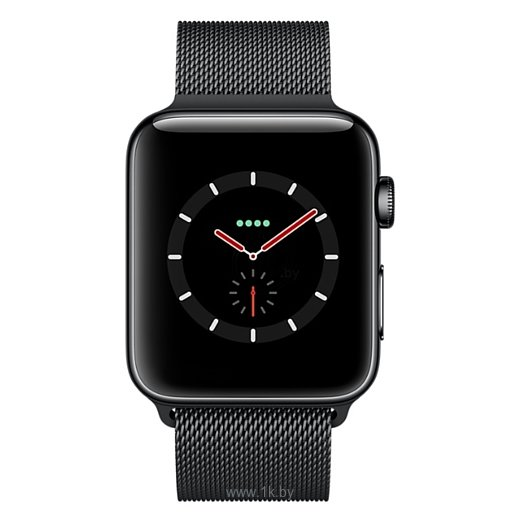 Фотографии Apple Watch Series 3 Cellular 42mm Stainless Steel Case with Milanese Loop