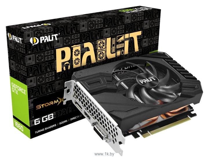 Фотографии Palit GeForce GTX 1660 StormX (NE51660018J9-165F)