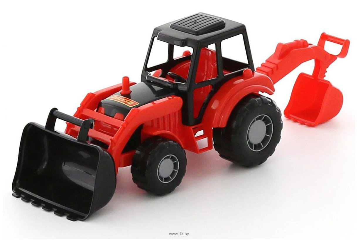 Фотографии Полесье Мастер трактор-экскаватор 35318