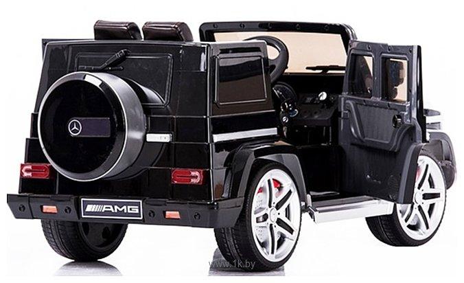 Фотографии Electric Toys Mercedes G65 Eva Lux (черный)