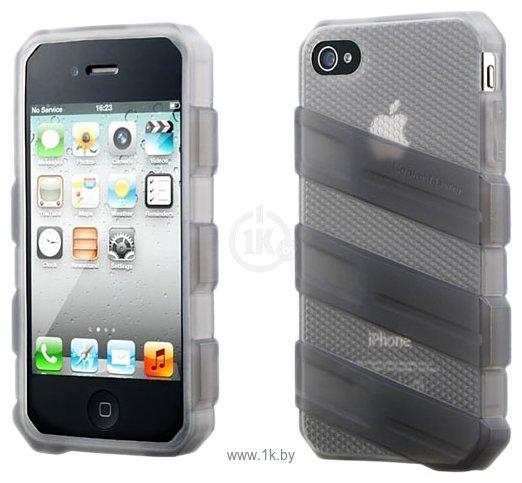 Фотографии Cooler Master Claw Translucent Gray для iPhone 4/4S (C-IF4C-HFCW-3A)