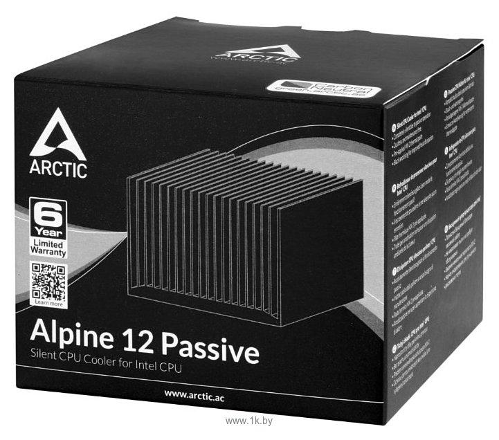 Фотографии Arctic Cooling Alpine 12 Passive
