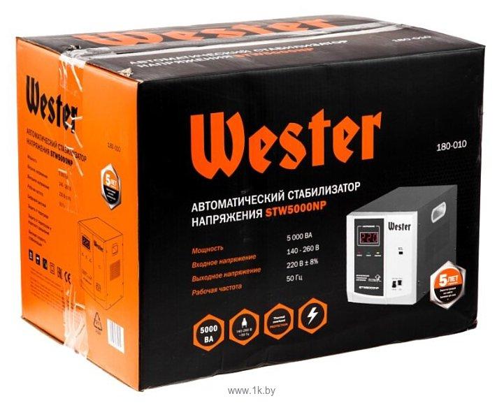Фотографии Wester STW-5000NP