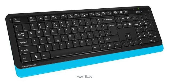 Фотографии A4Tech FG1010 Black-Blue USB