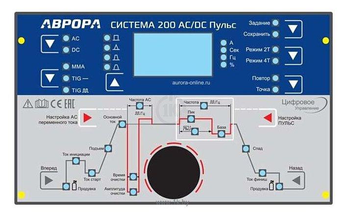Фотографии Aurora Система 200 AC/DC ПУЛЬС