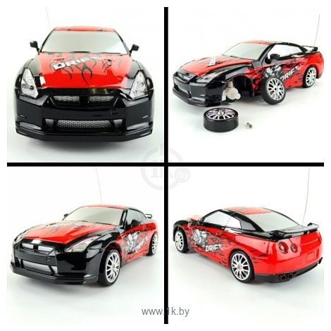 Фотографии Huang Bo Nissan Skyline GT-R 1:24 (666-210)