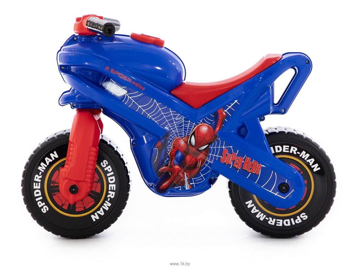 Фотографии Полесье Мотоцикл Marvel Человек-паук 78735
