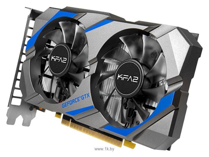 Фотографии KFA2 GeForce GTX 1050 Ti 1290MHz PCI-E 3.0 4096MB 7008MHz 128 bit DVI HDMI HDCP DisplayPort 1-Click OC