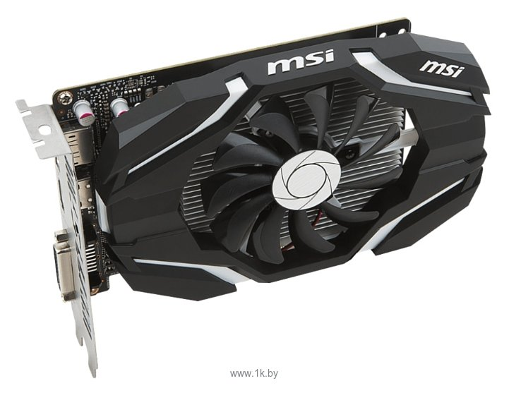 Фотографии MSI GeForce GTX 1050 Ti OC
