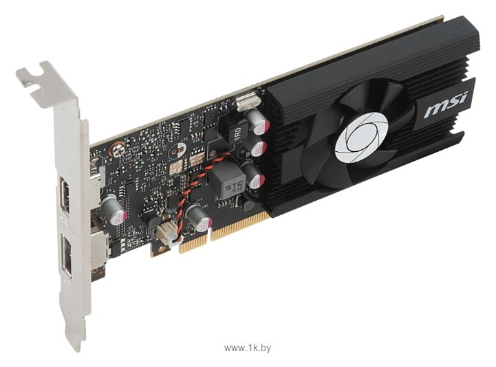 Фотографии MSI GeForce GT 1030 1265Mhz PCI-E 3.0 2048Mb 6008Mhz 64 bit HDMI HDCP LP OC