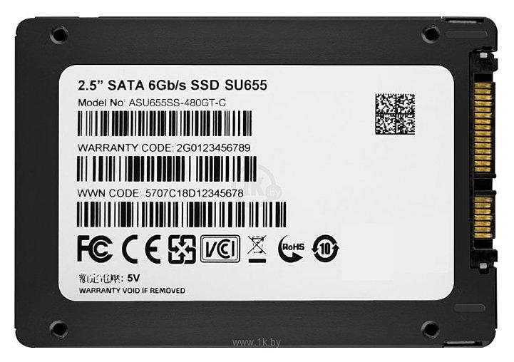Фотографии ADATA Ultimate SU655 480GB