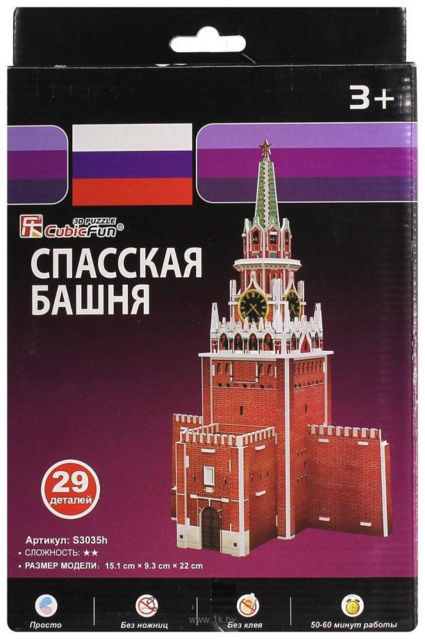 Фотографии CubicFun Спасская башня S3035h