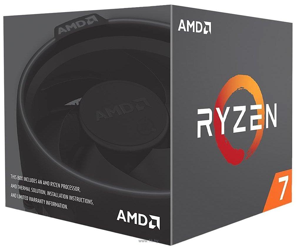 Фотографии AMD Ryzen 7 2700 Pinnacle Ridge (AM4, L3 16384Kb)