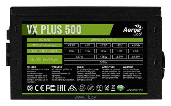 Фотографии AeroCool VX Plus 500W