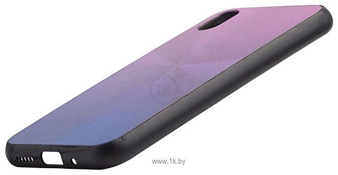 Фотографии EXPERTS SHINY TPU CASE для Huawei Y5 (2019)/Honor 8S (фиолетовый)
