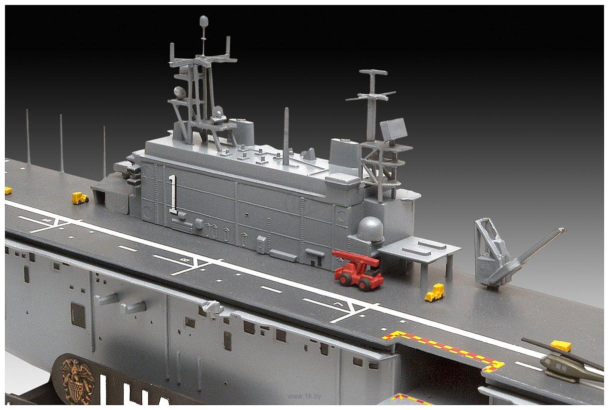 Фотографии Revell 05170 Assault Ship USS Tarawa LHA-1