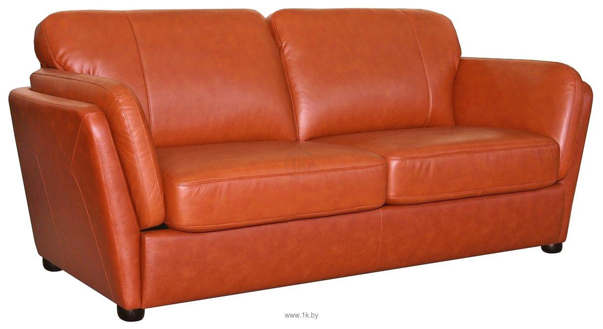 Трёхместный кожаный диван Биарриц. Результатов на странице. СТОЛЫ