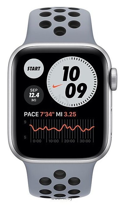 Фотографии Apple Watch SE GPS 40mm Aluminum Case with Nike Sport Band