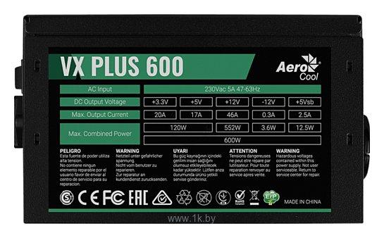 Фотографии AeroCool VX Plus 600W