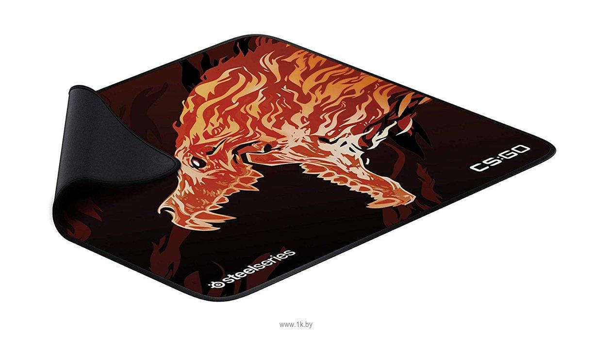 Фотографии SteelSeries QcK+ Limited CS:GO Howl Edition