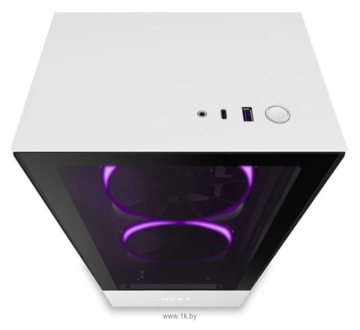 Фотографии NZXT H510 Elite White/black