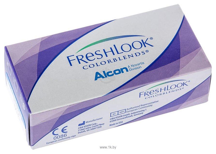 Фотографии Alcon FreshLook ColorBlends -0.5 дптр 8.6 mm (зеленый)