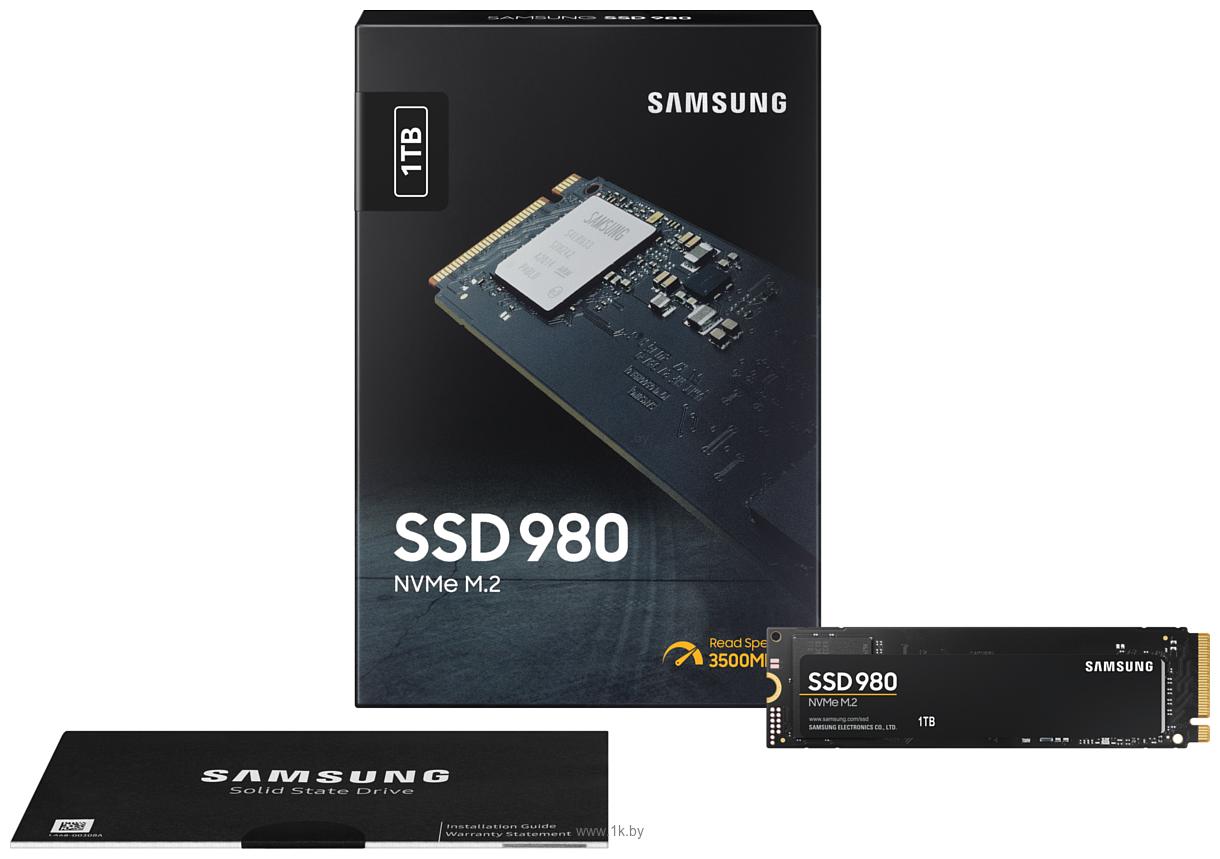 Фотографии Samsung 980 1000 GB MZ-V8V1T0BW