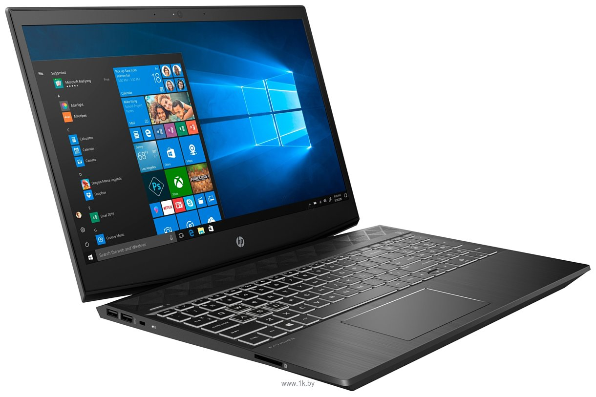 Фотографии HP Gaming Pavilion 15-cx0026ur (4JT75EA)