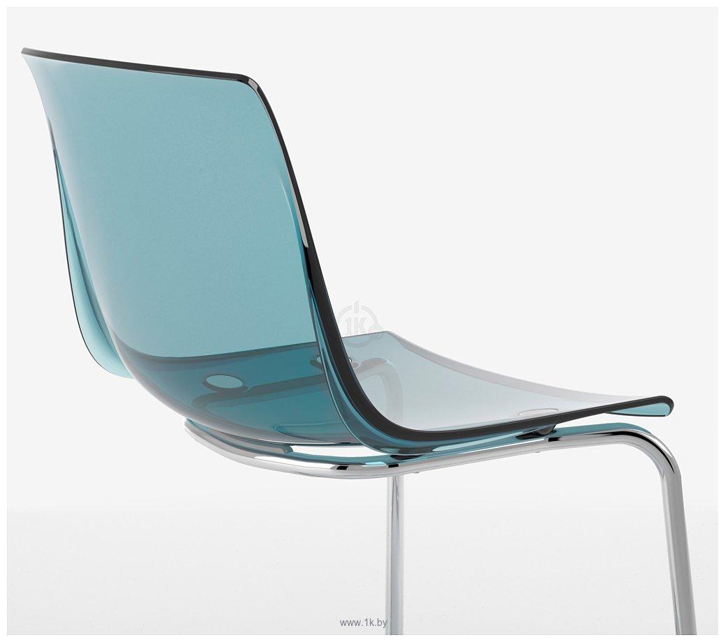 Фотографии Ikea Тобиас (синий/хром) (203.558.15)