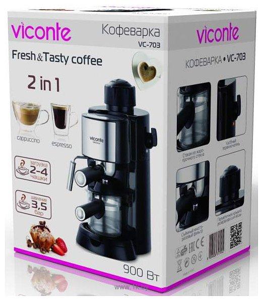 Фотографии Viconte VC-703 (кофеварка)