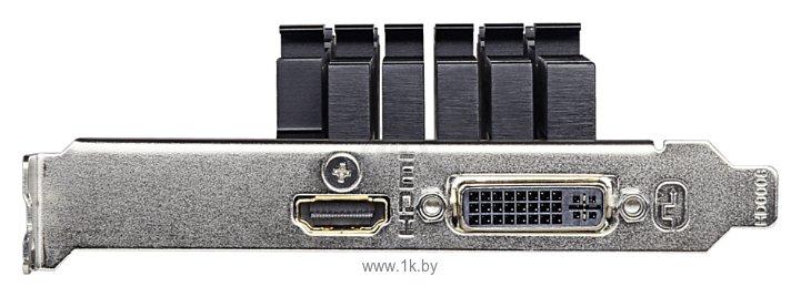 Фотографии GIGABYTE GeForce GT 710 954Mhz PCI-E 2.0 2048Mb 5010Mhz 64 bit DVI HDMI HDCP Silent