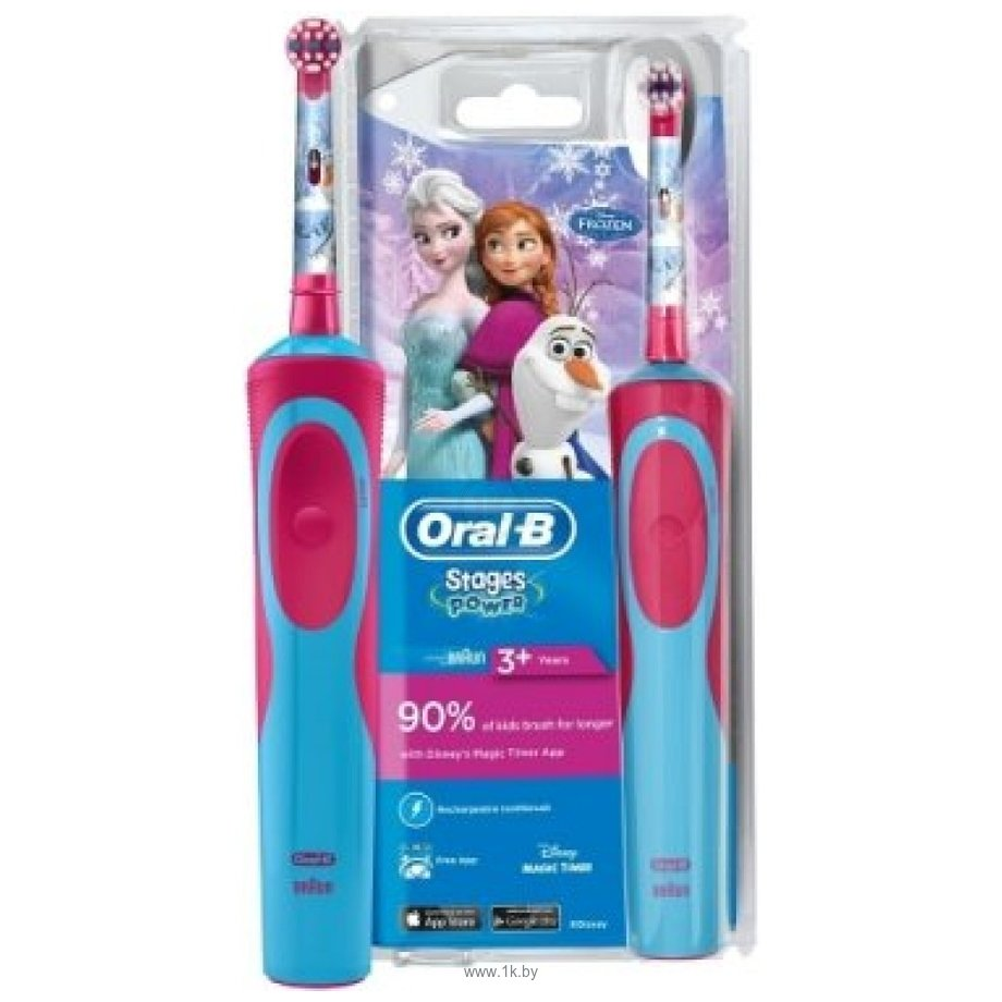 Фотографии Braun Oral-B Stages Power Frozen D12.513K