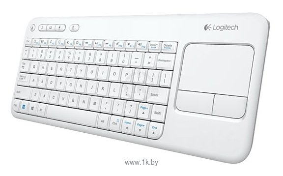 Фотографии Logitech Wireless Touch Keyboard K400 White USB