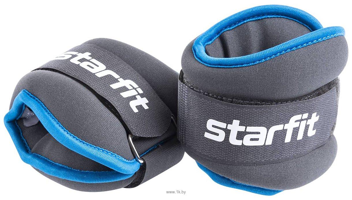Фотографии Starfit WT-501 2x1.5 кг (черный/синий)