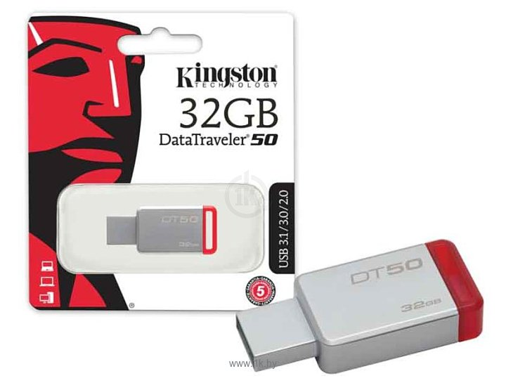 Фотографии Kingston DataTraveler 50 32GB (DT50/32GB)