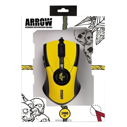 Фотографии Jet.A JA-GH35 Arrow Yellow USB