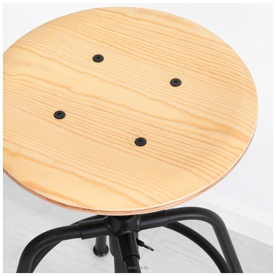 Фотографии Ikea Куллаберг (сосна/черный) 603.636.58