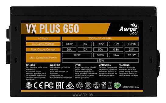 Фотографии AeroCool VX Plus 650W