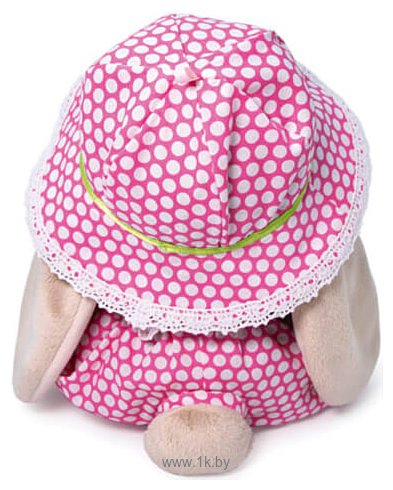 Фотографии Зайка Ми в шляпе и с мишкой 23 см SidM-381