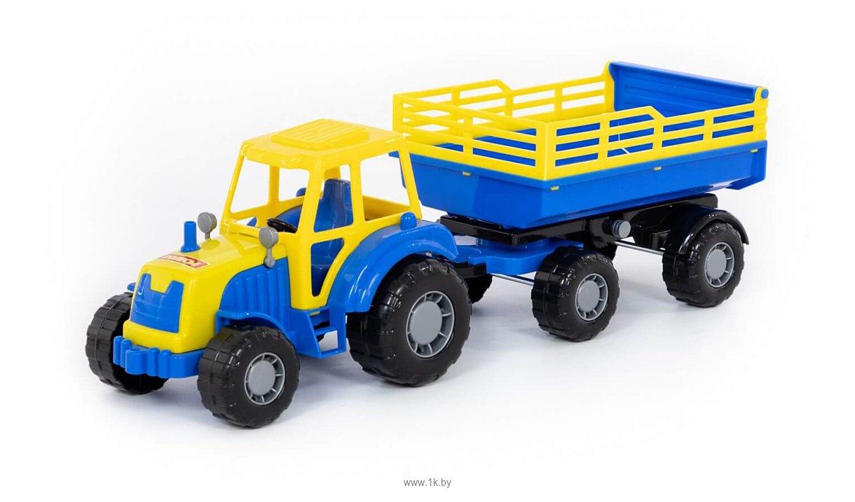 Фотографии Полесье Мастер трактор с прицепом №2 35271