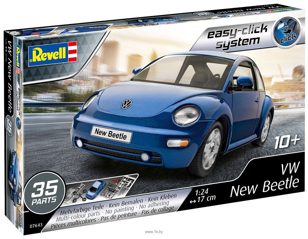 Фотографии Revell 07643 VW New Beetle