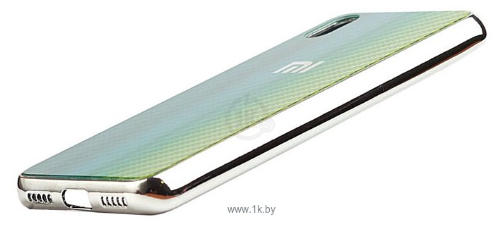 Фотографии EXPERTS Aurora Glass для Xiaomi Redmi 7 с LOGO (зеленый)