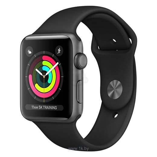 Фотографии Apple Watch Series 3 42mm Aluminum Case with Sport Band