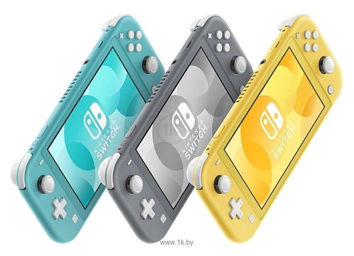 Фотографии Nintendo Switch Lite (желтый)
