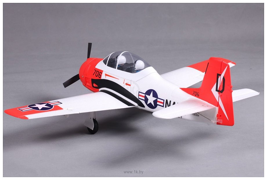 Фотографии FMS T-28 V2 Red (FMS032P-RED)