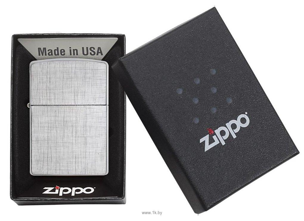 Фотографии Zippo Linen Weave (28181-000003)