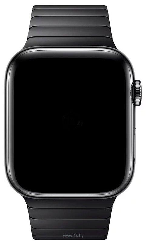 Фотографии Apple блочный 38 мм (черный космос) MUHK2