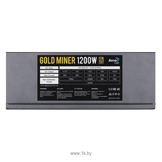 Фотографии AeroCool Gold Miner 1200W