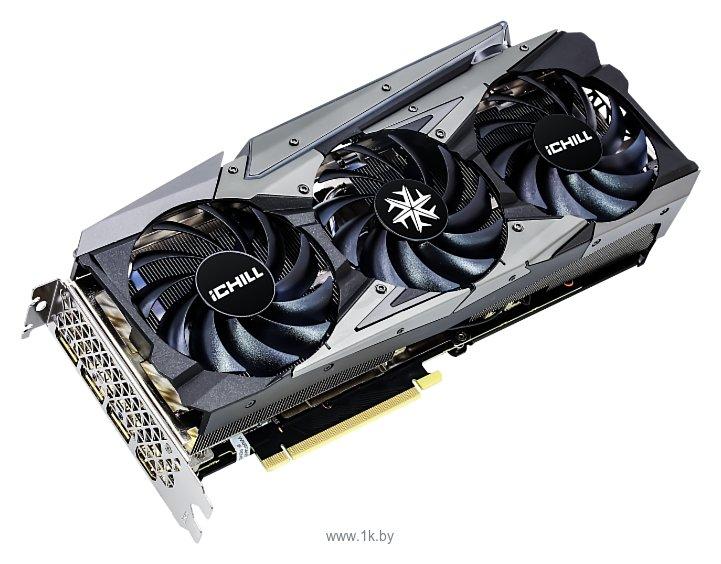 Фотографии INNO3D GeForce RTX 3070 iCHILL X3 8GB (C30703-08D6X-1710VA38)