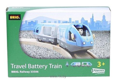 Фотографии Brio Поезд с машинистом экспресс 33506